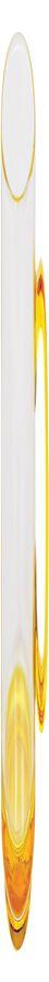 """Кружка """"Joyful"""",прозрачная с желтым,300мл,стекло"""