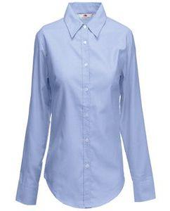 "Рубашка ""Lady-Fit Long Sleeve Oxford Shirt"" фото"