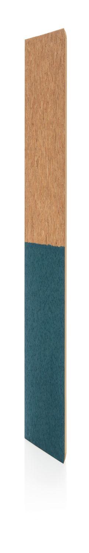 Блокнот в пробковой обложке, синий фото