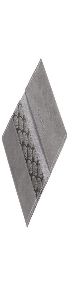 Футляр для визиток Letizia, серый фото