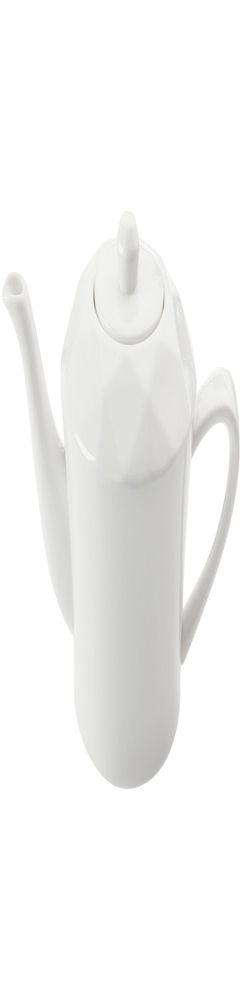 Чайник Diamante Bianco, белый фото