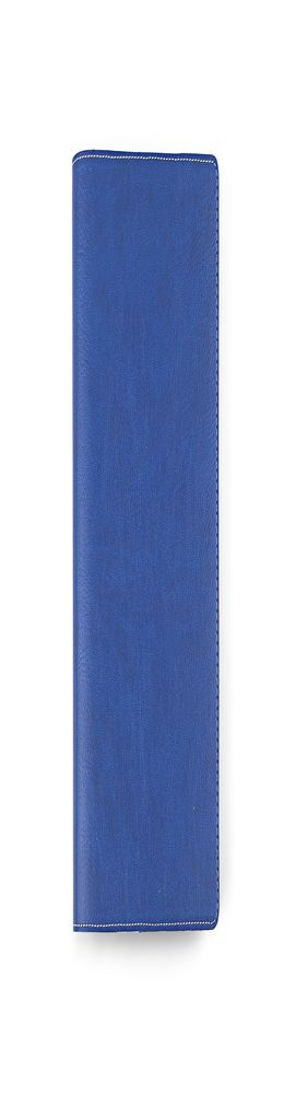 Ежедневник-портфолио Vision, искусственная кожа, синий/серый (14,5х20,5 см) фото