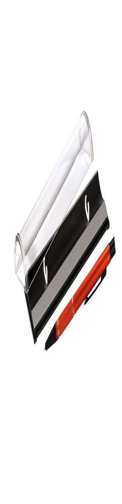 Шариковая ручка, Etna, нажимной мех-м,корпус-алюминий,оранжевый,матовый/отд-гравир-ка, хром.кольцо, детали с черным покрытием, в упаковке фото