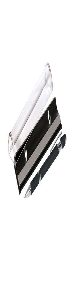 Шариковая ручка, Comet, нажимной мех-м,корпус-алюминий,покрытие-soft touch, под зеркал.лазер.гравир,отд-гравир-ка,хром, силик.стилус, черный, в упаков фото