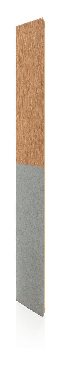 Блокнот в пробковой обложке, серый фото