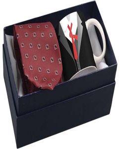 Набор: чашка и галстук «Утро джентльмена» фото