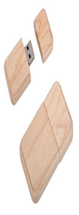 """Флеш-карта """"Wood"""" (8Гб) фото"""