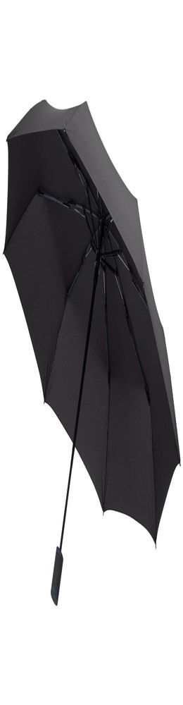 Зонт складной AOC Mini, синий фото