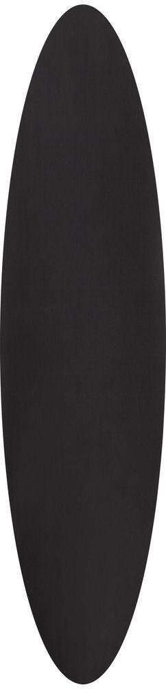 Сервировочная салфетка Satiness, круглая, черная фото