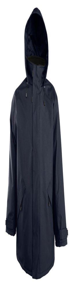 Куртка на стеганой подкладке River, темно-синяя фото