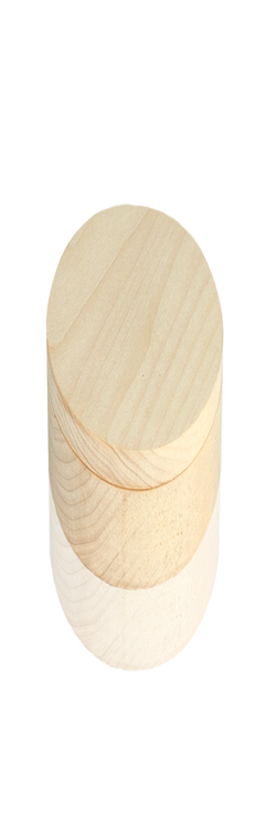 U-PK094 Деревянная упаковка круглая береза фото