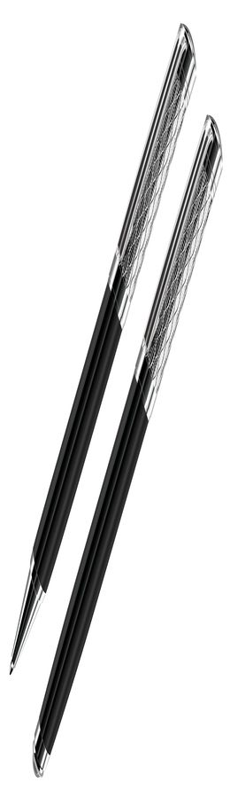 CASTLE, набор:ручка шариковая и ручка-роллер (без футляра) фото