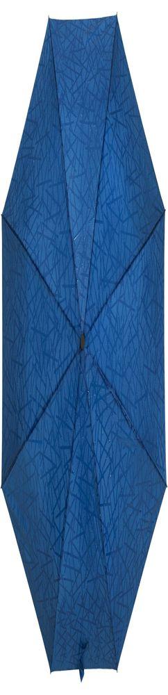 Складной зонт Magic с проявляющимся рисунком, синий фото
