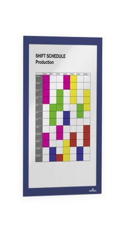 488207 Рамка информационная самоклеящаяся DURAFRAME A4 синяя фото