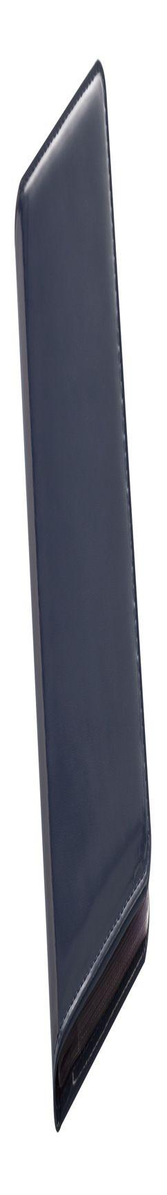Визитница LUXE, синяя фото