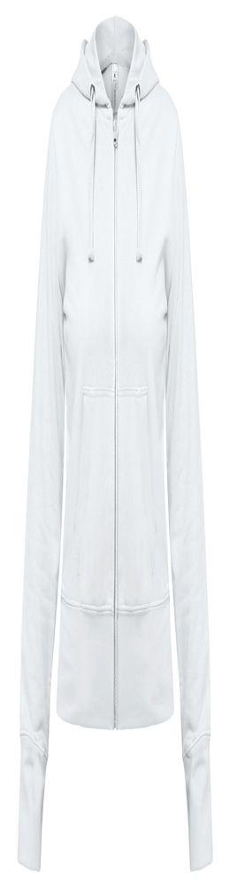 Толстовка женская Hooded Full Zip белая фото