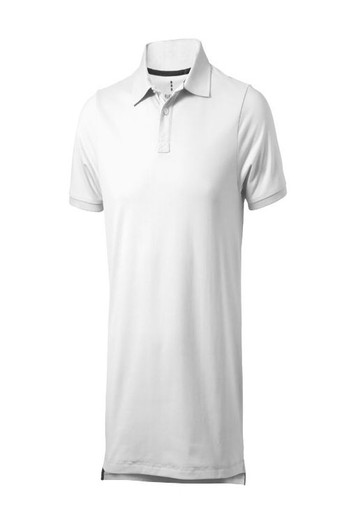 """Рубашка-поло """"Yukon"""" мужская, белый фото"""