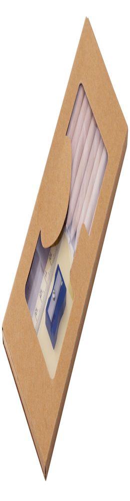 Набор карандашей «Взрослый занят делом» со стикерами, точилкой и линейкой фото