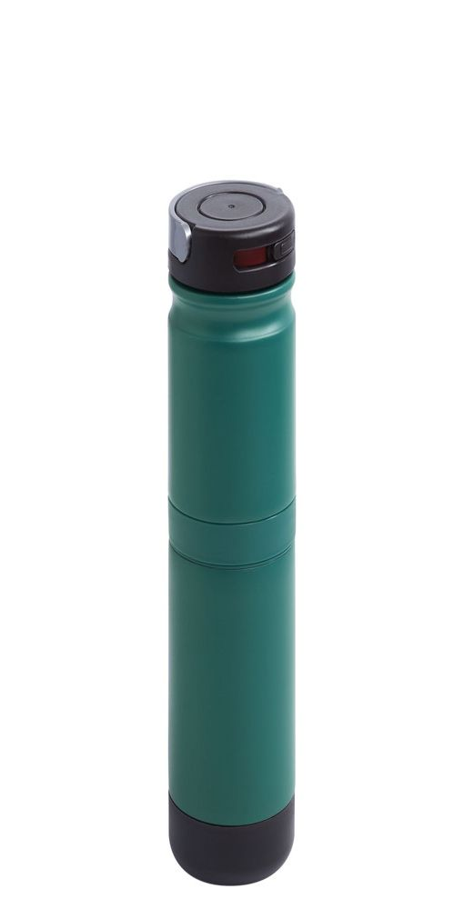Термостакан Golchi 2 в 1, бирюзовый фото