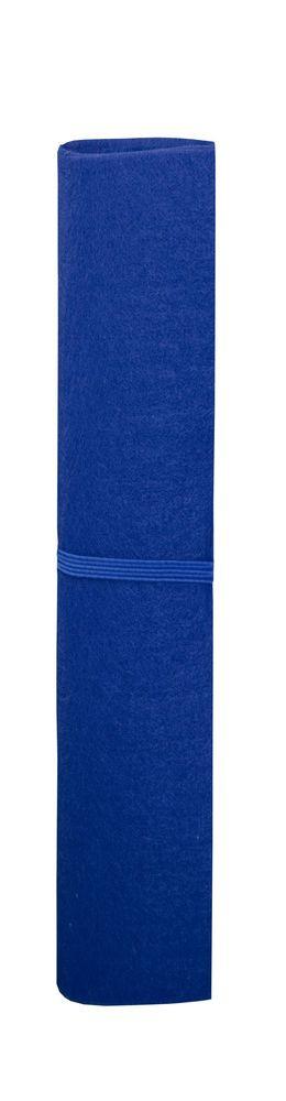 Блокнот Felt с авторучкой, синий фото