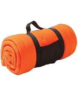 "Плед ""Сolor""; оранжевый фото"