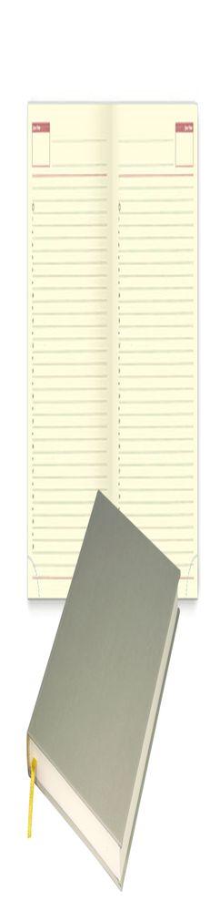 Недатированный блок для портфолио Passage, Croisette, Clip, RIVER, бежевый фото