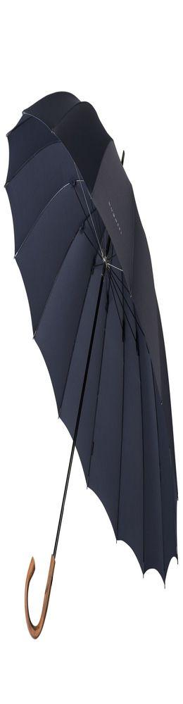 Зонт-трость Big Boss, темно-синий фото