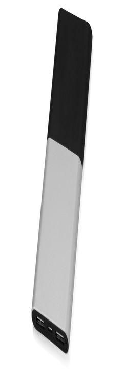 Портативное зарядное устройство с подсветкой корпуса «Quark», 6000 mAh фото