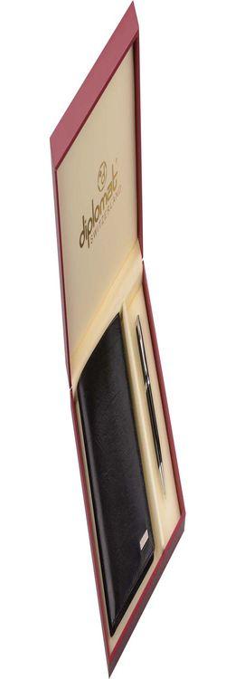 Набор: мужское портмоне, ручка шариковая фото