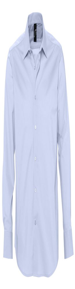 Рубашка мужская с длинным рукавом BRIGHTON голубая фото