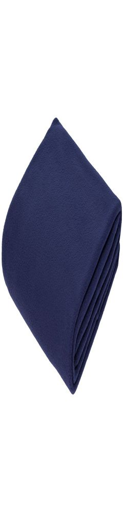 Флисовый плед Warm&Peace, синий фото
