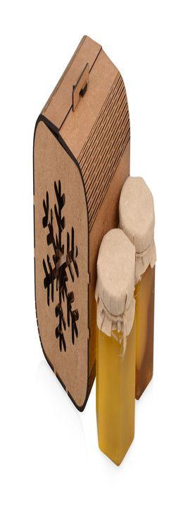 Подарочный набор «Taster» с двумя видами мёда фото
