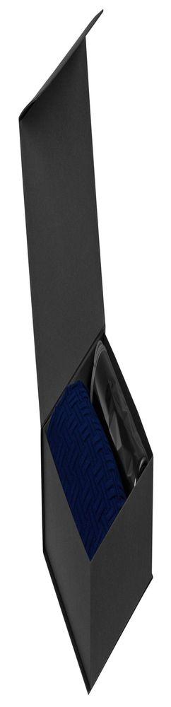 Набор Cozy Evening: плед и термостакан, черный фото