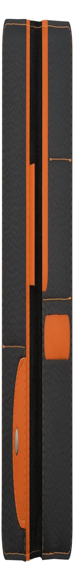 Органайзер для путешествий Hakuna Matata, черный с оранжевым фото