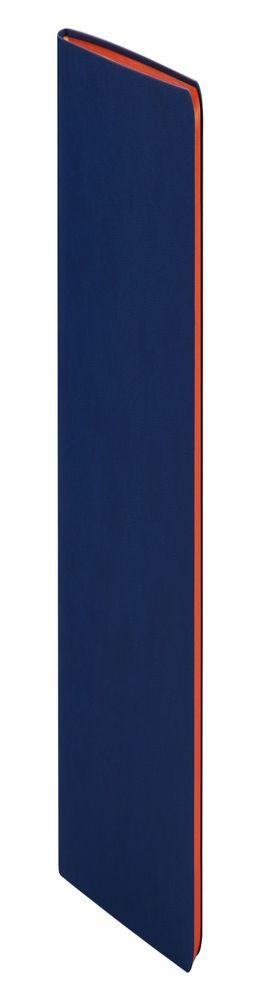 Ежедневник Blues Flex, недатированный, синий с оранжевым фото