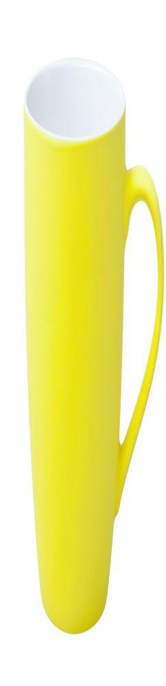 Кружка Good Morning c покрытием софт-тач, желтая фото