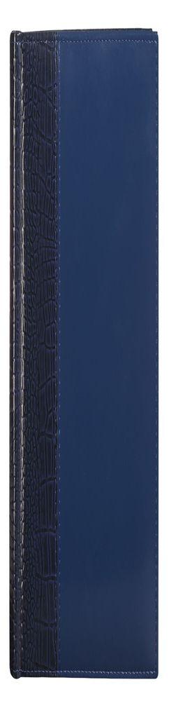 Ежедневник LUXE REPTAIL, полудатированный, синий фото