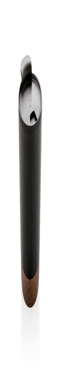 Термокружка Cork, черный фото