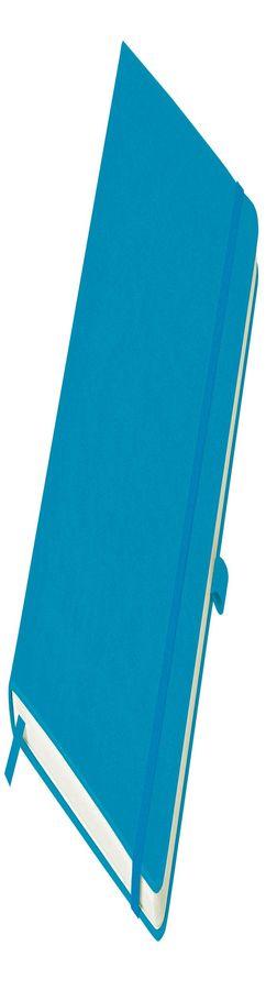 Бизнес-блокнот Justy, А5, в линейку, голубой фото