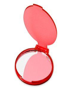 """Зеркало """"Carmen"""" складное, красный фото"""