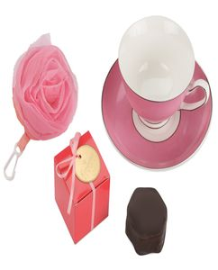 Набор Цветущая роза, розовый фото