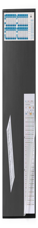 720401 Настольное покрытие с календарем Desk Mat with calendar 65х52см черное фото