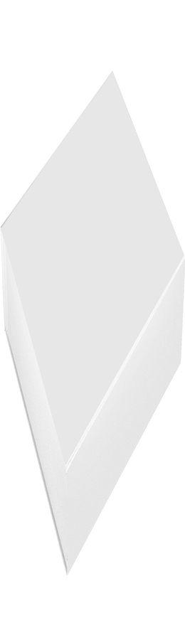 Коробка подарочная складная, белый фото