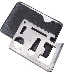 Инструмент многофункциональный в форме карты в чехле фото