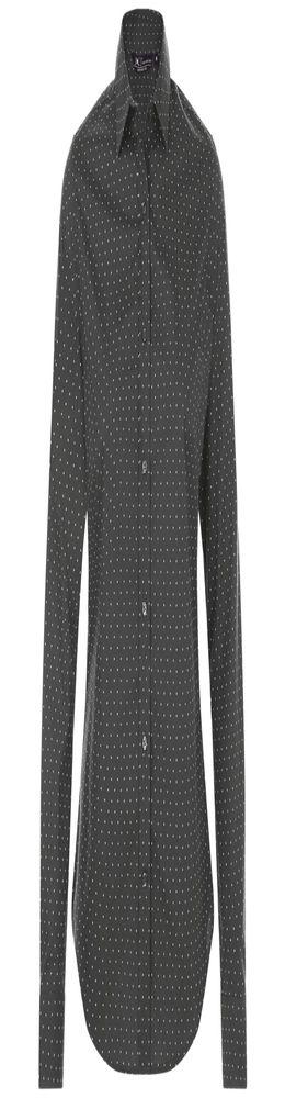 Рубашка женская BECKER WOMEN, темно-серая с белым фото