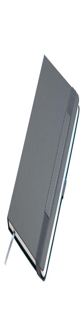 Ежедневник недатированный Portobello Trend, Alpha, серый/бирюзовый фото