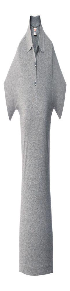 Рубашка поло женская SURF LADY, серый меланж фото