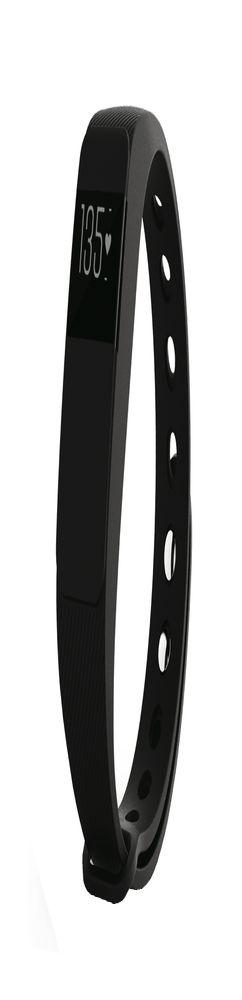 Смарт-браслет Portobello Trend, The One Plus, электронный дисплей, пульсометр, браслет - силикон, черный фото