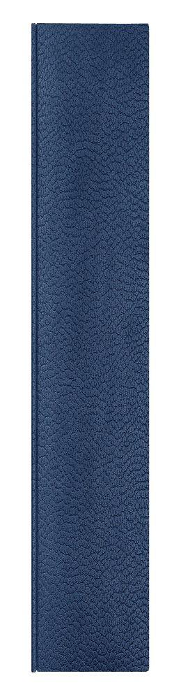 Ежедневник Dallas 5463 145x205 мм, синий , белый блок, черно-синяя графика, 2019 фото