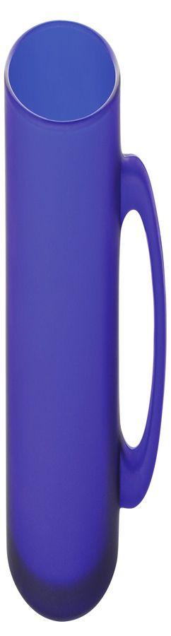 """Кружка """"Frost"""",синяя,320мл,стекло фото"""